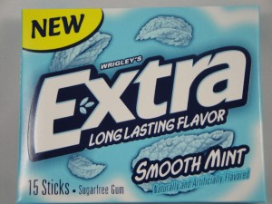 Extra SmoothMint sugar free gum review