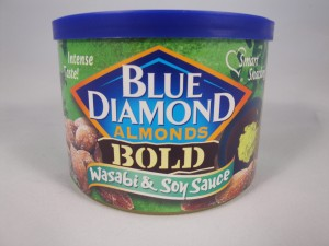 Blue Diamond Almonds BOLD Wasabi & Soy Sauce review