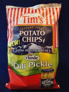 Tim's Vlasic Dill Pickle Flavored Potato Chips review