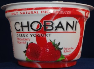 Chobani Greek Yogurt Strawberry