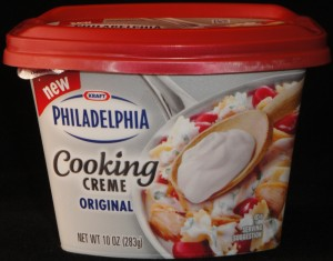 Kraft Philadelphia Cooking Creme Original Review