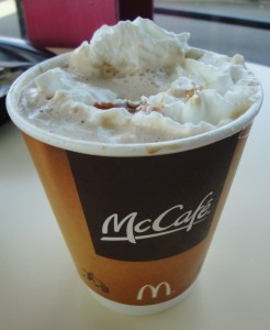 McDonald's Peppermint Mocha review