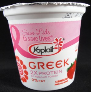 Yoplait Greek Strawberry Yogurt review