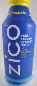 Zico Coconut Water w/Pineapple & Citrus Flavors review