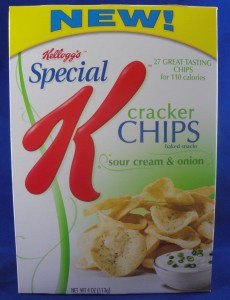 Special K cracker chips, sour cream & onion review