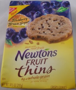 Newton Fruit Thins Blueberry Brown Sugar