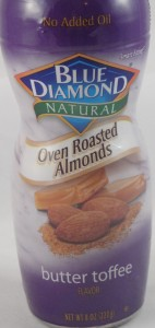 Blue Diamond Natural Oven Roasted Almonds, Butter Toffee Flavor review