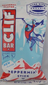 Clif Bar Energy bar, Peppermint Stick review