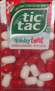 Tic Tac Holiday Twist Limited Edition Mints Review