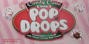Candy Cane Tootsie Pop Drops, Peppermint Flavor review