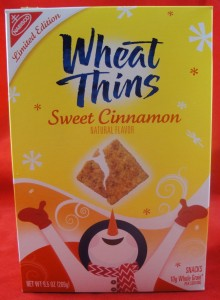 Wheat Thins Sweet Cinnamon Limited Edition review