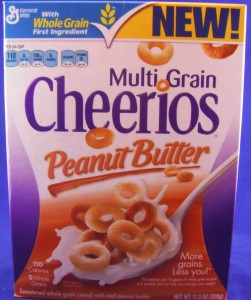 Multi Grain Cheerios Peanut Butter