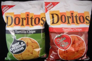 Doritos Limited Edition: Salsa Rio & Sour Cream Onion flavor review