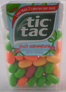 Tic Tac Fruit Adventure flavor review