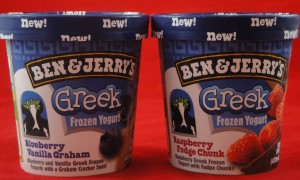 Ben & Jerry's Greek Frozen Yogurt, flavor review