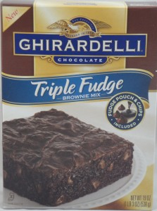 Ghirardelli Chocolate Triple Fudge Brownie Mix, Review