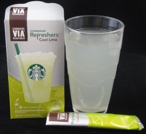 Starbuck's Via Cool Lime Refreshers, flavor review