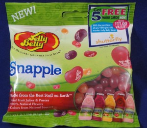 Snapple Jelly Belly gourmet jelly beans, flavor review