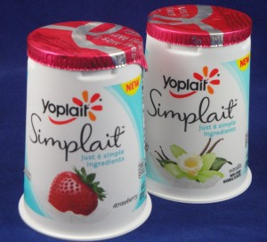 Yoplait Simplait Yogurt, flavor review