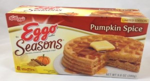 Eggo® Waffles Seasons: Pumpkin Spice, limited edition, Flavor Review