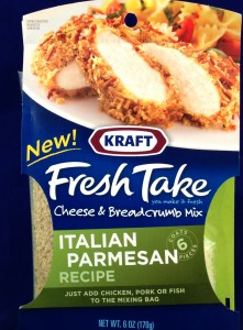 Kraft Fresh Take, Italian Parmesan recipe, flavor review
