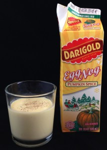 Darigold Pumpkin Spice Egg Nog, flavor review
