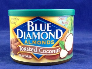 Blue Diamond Toasted Coconut Flavored Almonds, Flavor Review