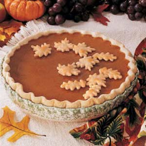 pumpkin pie (Taste of Home)