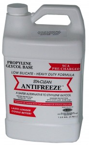 Antifreeze added to food and drink?